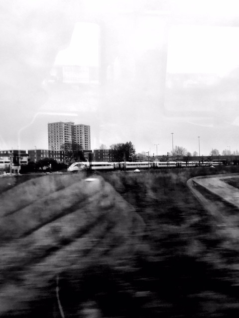 Off on the train…