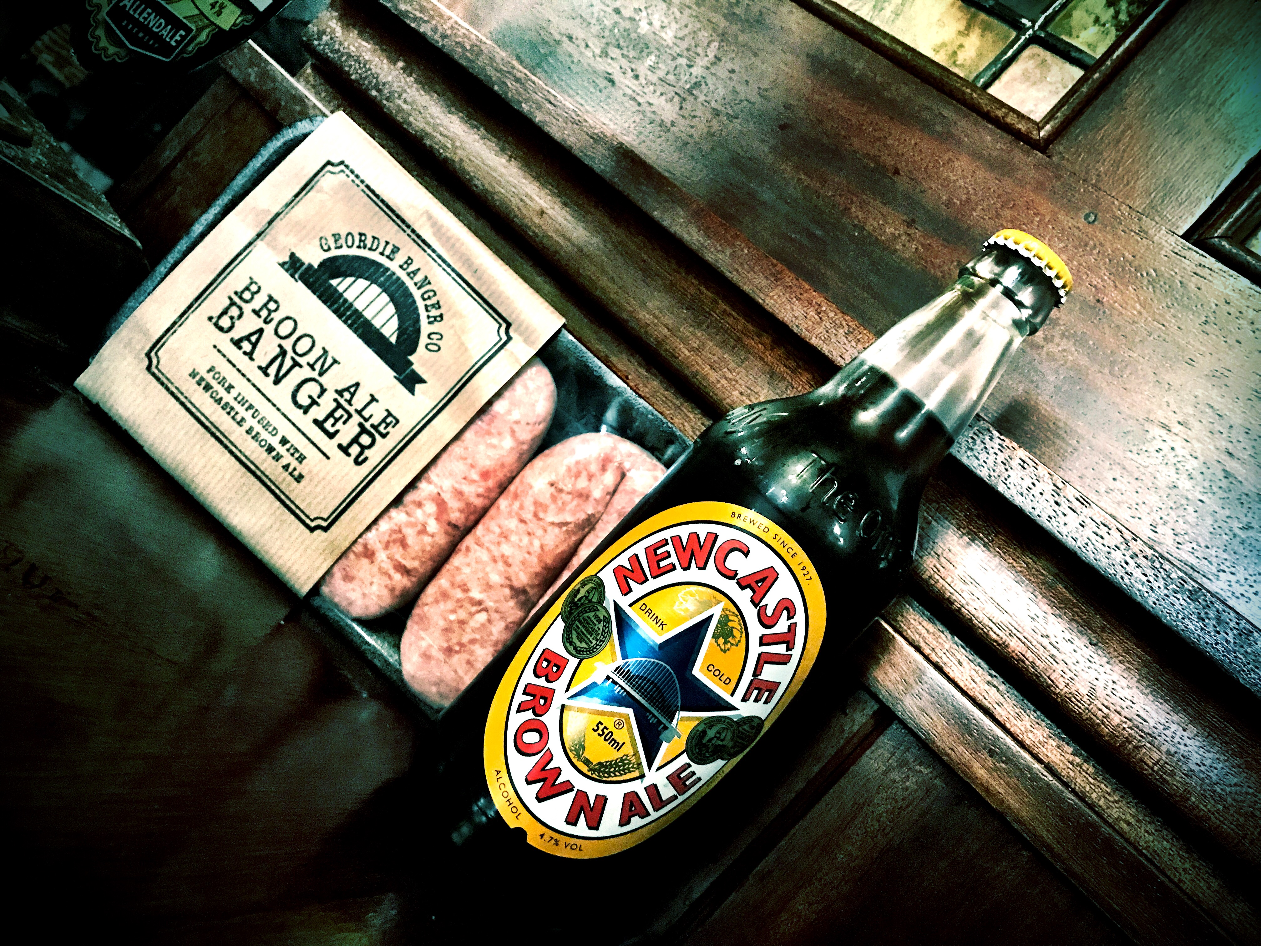Geordie Banger Company – Brown Ale Sausages